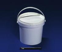 Ведро полипропиленовое пищевое белое 13,2л JOKEY, с белой крышкой.1802/3277z