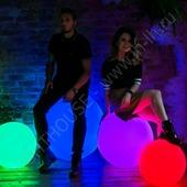 Световой шар разноцветный Moonlight 120 см Accum_YM