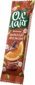 """Батончик Ол Лайт """"Шоколад & Апельсин"""" фруктово-ореховый, 30 г"""