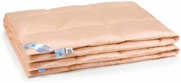 """Одеяло Belashoff """"Люкс"""", кассетное, цвет: персиковый, 140 х 205 см"""