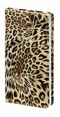 "Записная книжка, Infolio Study ""Leopard"" 90х160 мм, 192 стр., клетка."