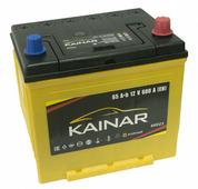 Автомобильный аккумулятор Kainar Asia (65 A/h), 600A R+