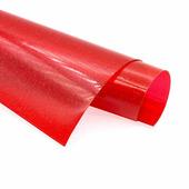 Пленка цветная в мелкую крапинку, цвет красный, размер 15x20см