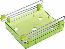 Органайзер для холодильника Homsu, на металлическом основании, цвет: зеленый, 15 х 12 х 4 см