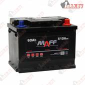 Аккумулятор для легковых автомобилей MAFF Standart (60 A/h), 510А R+