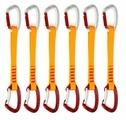 Набор оттяжек с карабинами Edelweiss Top Evo 22 cm Quickdraws 6 pcs set 6ШТ