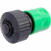 """Соединитель Park 3/4"""", с аквастопом, HL030, зеленый, черный"""