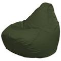 Кресло-мешок FLAGMAN Груша Макси темно-oливковый (Г2.2-04)