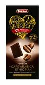 Шоколад Torras горький 72% с кофейными зернами, 100 г