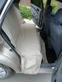 """Автогамак для животных """"AvtoPoryadok"""", с защитой сидений, цвет: бежевый, 145 х 140 см"""
