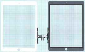 Тачскрин (сенсорное стекло) для планшета Apple IPad Air, 9.7, белый