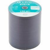 Диск DVD+R INTRO Printable 16x 4.7GB Bulk