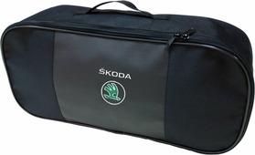 """Набор аварийный в сумке """"Auto Premium"""", с логотипом """"Skoda"""" + жилет светоотражающий, размер XL. 67468"""