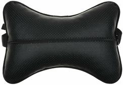 """Подушка автомобильная """"Auto Premium"""", на подголовни, цвет: черный, 30 х 20 см. 37302"""