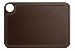 Доска разделочная Arcos Accessories, 692100, с желобом, коричневый, 30,5 х 23 см