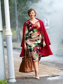 Электронная выкройка Burda - Платье с эффектом запаха №121 A