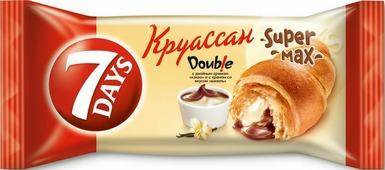Круассан 7Days, с кремом какао-ваниль, 110 г