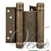 Дверная петля ALDEGHI 101OA075 75X28X2 мм античная бронза