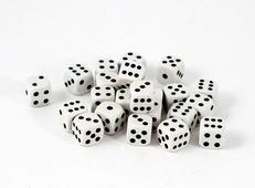Кубик для игры в кости 8*16*3см, 42422