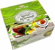 Сладкий Апрель Щербет яблочный с орехом и корицей, 250 г