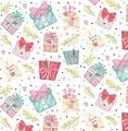 Упаковочная бумага Magic Home Подарки, 79730, мультиколор, 100 х 70 см