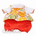 Комплект одежды Gotz Fruity Combination Size S (Фруктовый для кукол Готц 30 - 33 см)