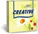 Салфетки бумажные Aster Creative Нежность, 3-слойные, 33 х 33 см, 20 шт