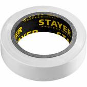 Изоляционная лента пвх STAYER 15 мм х 10 м, не поддерживает горение Protect-10 12291-W