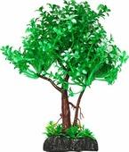"""Растение для аквариума Уют """"дерево зеленое с белым"""", высота 22 см"""