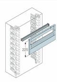 DIN-рейка+пластрон H=225мм для шкафа GEMINI (Размер2-3) АВВ, 1SL0313A00