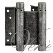 Дверная петля ALDEGHI 101FA075 75X28X2 мм античное серебро