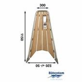Бушприт-площадка Batsystem PT10044 1150 x 520 x 300 мм