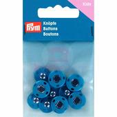 Кнопки пришивные латунь 14 мм 5 шт синий Prym 341908