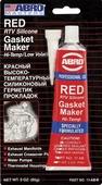 Герметик прокладок Abro, высокотемпературный, красный, 85 г