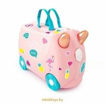 Чемодан на колесиках 'Фламинго Флосси' Trunki 0353-GB01