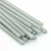 Термоклей 7мм, серебряный