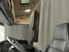 Комплект автоштор Эскар Blackout - auto L, серо - бежевый, 2 шторы 240 х 100 см, 2 подхвата
