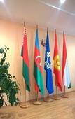 Флаг интерьерный двусторонняя печать, под заказ (50х100 см)