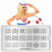 Пластина для стемпинга MoYou London Sailor 11
