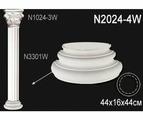 Лепнина Перфект Декоративная колонна N2024-4W