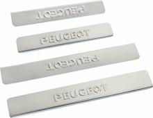 "Накладки внутренних порогов ""DolleX"", для PEUGEOT 408, 4007, 308, 3008, 308SW, 4 шт"