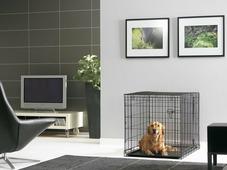 """Переноска-клетка для животных Savic """"Cottage"""", цвет: черный, 107 х 72 х 79 см"""