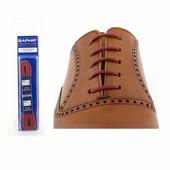 Шнурки Saphir (круглые, тонкие) (Цвет-12 Hermes красный Размер-60 см)