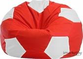 Кресло-мешок Flagman Мяч Стандарт М1.1-181 (красный/белый)