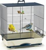 """Клетка для птиц Savic """"Primo"""", цвет: синий, бежевый, 46 х 32 х 48 см"""