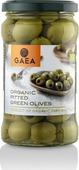 Овощные консервы Gaea Оливки органик зеленые без косточки, 290 г