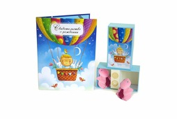 Подарочный набор детский Dream Service Подарочный комплект, 4319 синий, белый