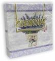 Салфетки бумажные Aster Creative Лаванда, 3-слойные, 25 х 25 см, 20 шт