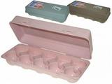 Емкость пластмассовая для яиц 26 х 11,5 см микс LUXL-404