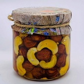 Мёд с орехами Ассорти 220г